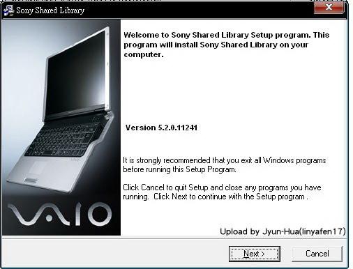 sony shared library_hotkey.jpg