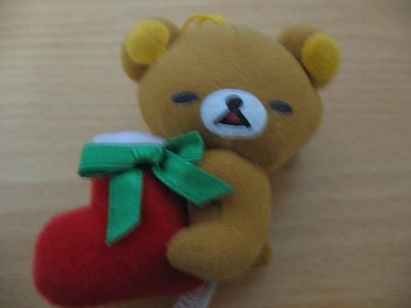 懶熊聖誕襪