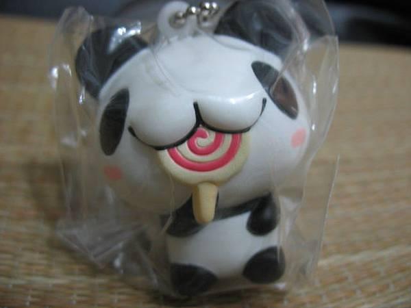 二代_彩。棒棒糖熊貓正面