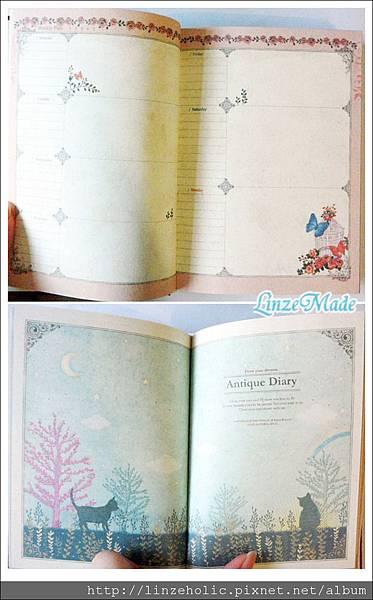 淘寶文具_4月購物_童話風日記本內頁