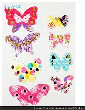 MW蝴蝶和紙貼紙包02