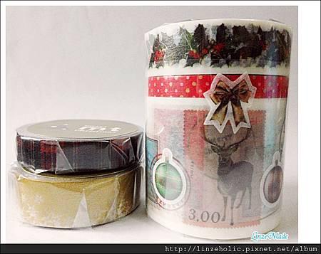 mt2011聖誕款和紙膠帶_B組+蘇格蘭紋+雪