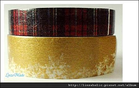 mt2011聖誕款和紙膠帶_蘇格蘭紋、雪01