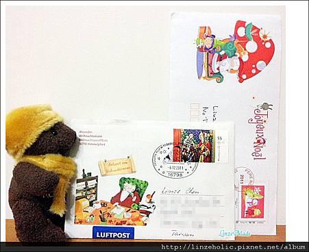 2011聖誕老人的回信
