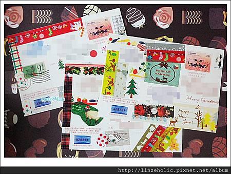 聖誕+賀年卡片01