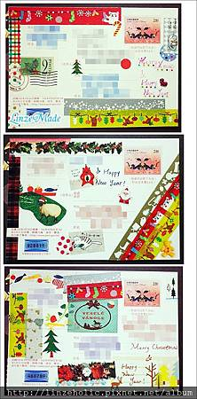 聖誕+賀年卡片02