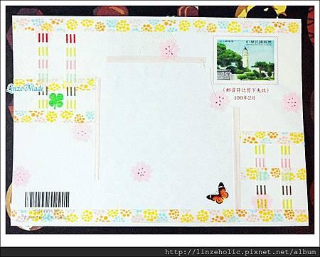 Linze手做櫻花卡片02