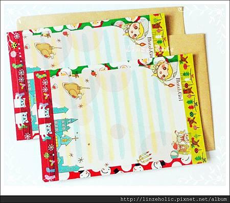 2013聖誕老人的回信_手做卡片