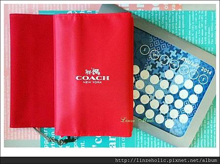 珠友書衣+COACH書衣+桌曆