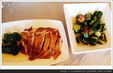 2014.03大大茶樓_油雞、小黃瓜