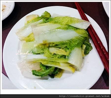 2014.08 台南榮星川味餐廳_開陽白菜