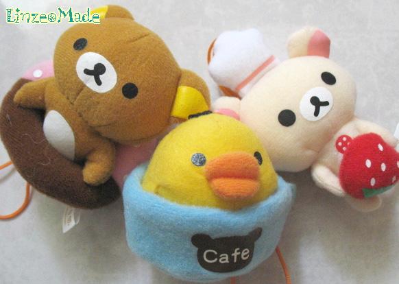 懶懶熊_Cafe篇_懶熊+鴨+熊妹