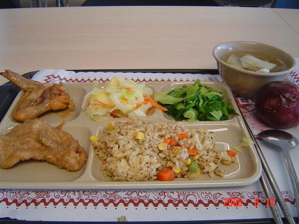 第一天午餐 桃園運務中心