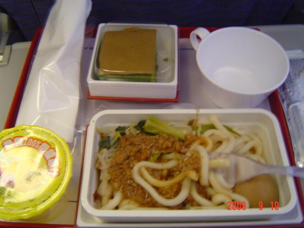 台北到香港飛機餐