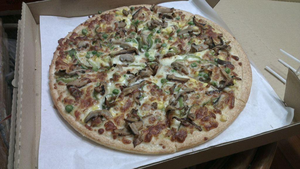 拿波里披薩:田園蔬菜