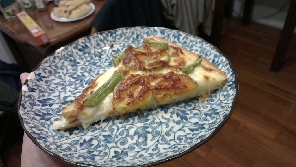 田園蔬菜披薩-切片