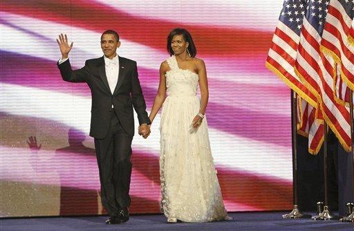 美國總統歐巴馬就職