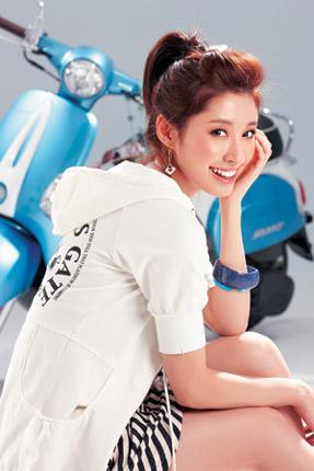 內搭藍白條紋洋裝NTD2,680