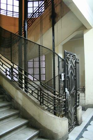Pension Vienna.古典電梯