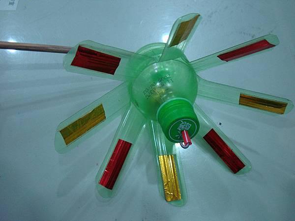 塑膠風車(無彩繪)
