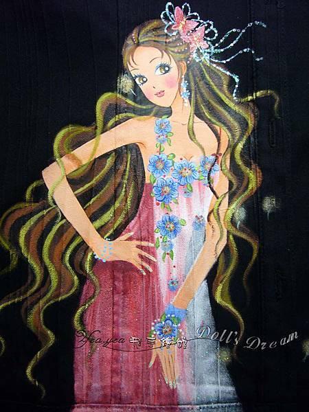 PS97024--花卉女孩