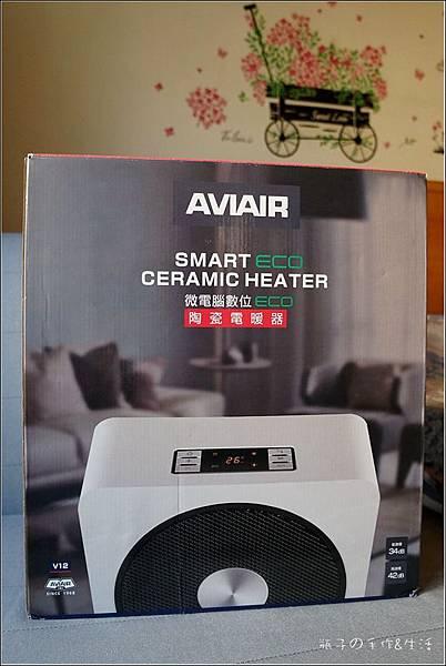 AVIAIR 微電腦數位ECO陶瓷電暖器(V12)2