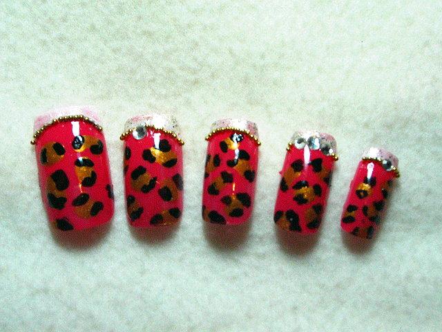 粉紅豹紋甜心