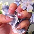 淡紫色璀璨水晶練習作品