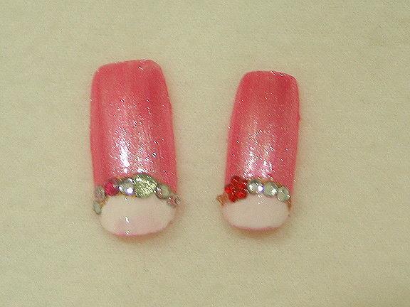 反向法式粉紅