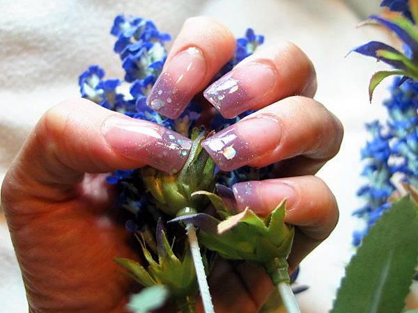 璀璨水晶-薰衣草紫1