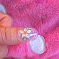 漸層水晶+粉雕尖瓣花