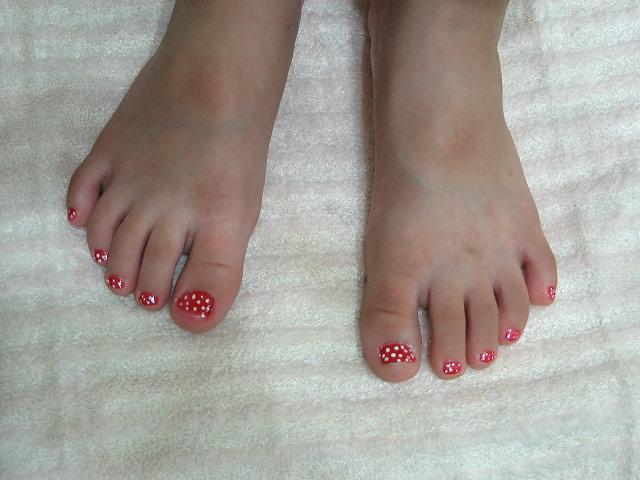 可愛的草莓彩繪