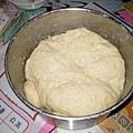發酵後的麵糰