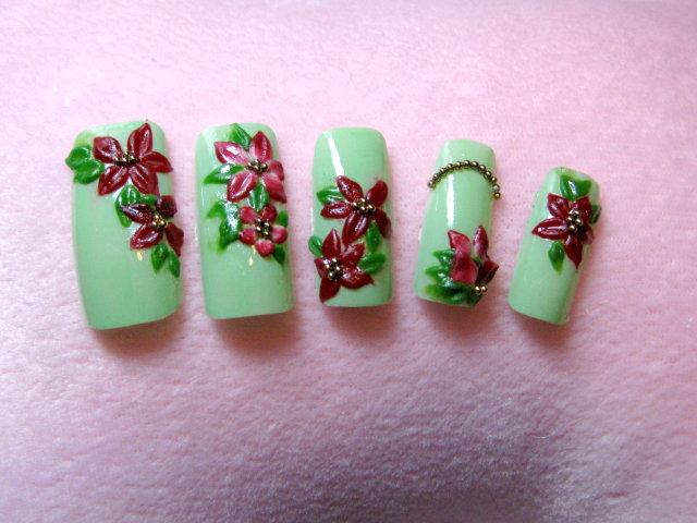 綠意耶誕紅