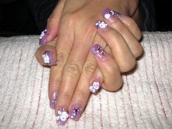 白玫瑰紫淺紫璀璨