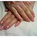Calgel的粉色漸層
