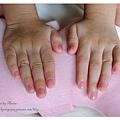 女兒的粉紅亮片