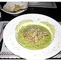 燻雞青醬義大利麵