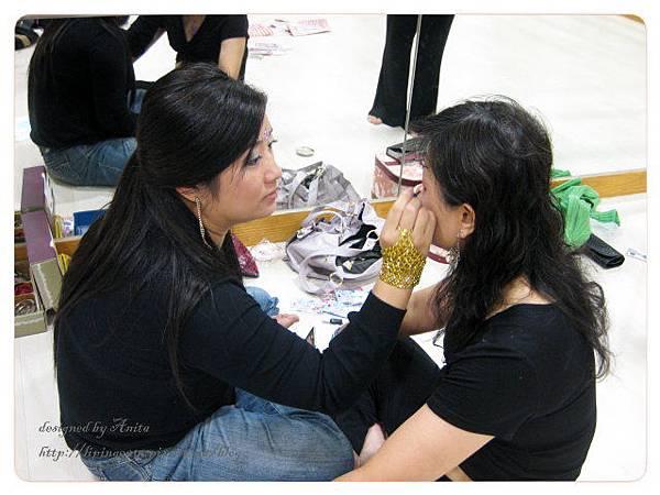 美滿也是我們辛苦的化妝師