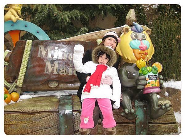 先去猴子園給猴子看