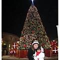 驪州OULET的華麗聖誕樹