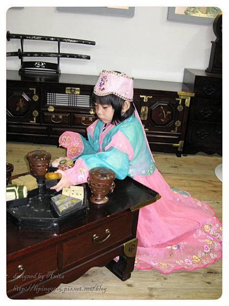 很愛玩的韓國公主