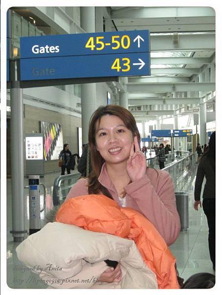 大又寬敞的仁川機場