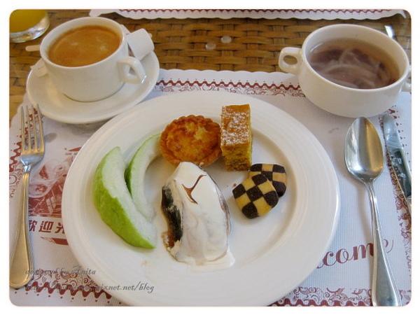 下午茶的甜點