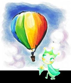 熱氣球小綠葉蟬