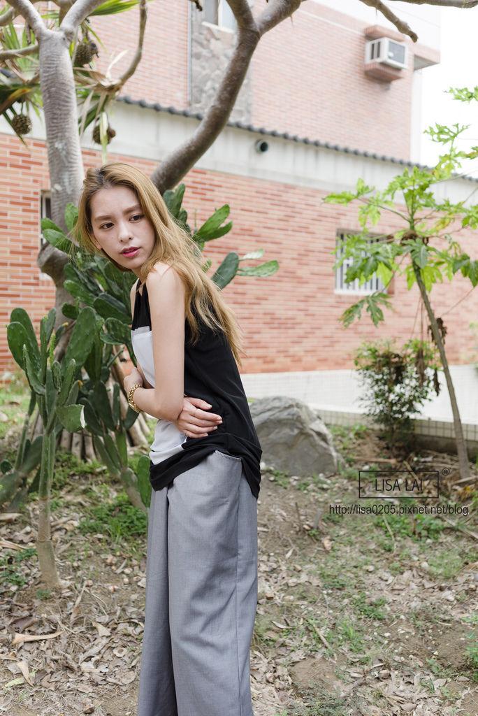 2015春夏流行趨勢 韓國服飾 寬褲 百褶裙 雪紡
