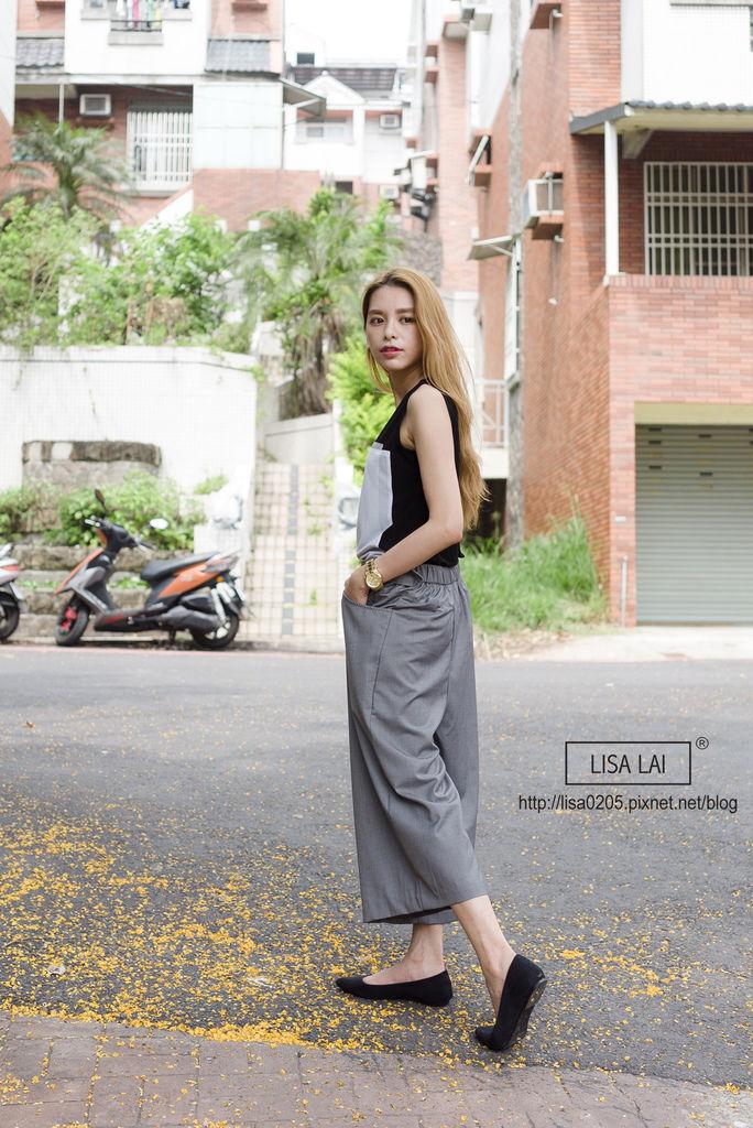 2015春夏流行趨勢 韓國服飾 寬褲 百褶裙 雪紡 幾何圖案