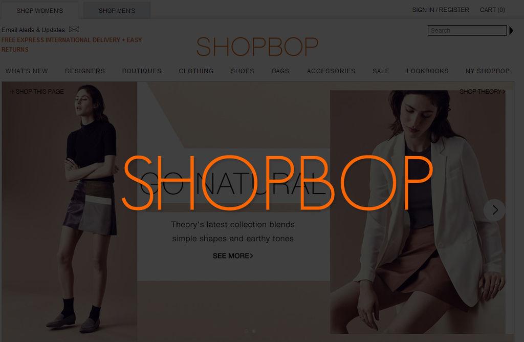 SHOPBOP 購物網站 精品 歐美