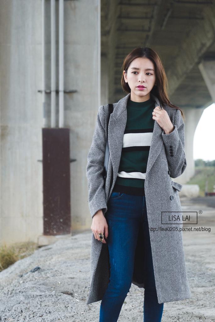 CHUU 韓貨 洋裝 MA1 大衣