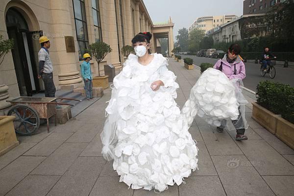 999口罩婚紗